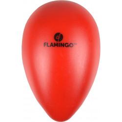 Flamingo Oeuf OVO rouge en plastique. ø 8 cm x 12.5 cm de hauteur. Jouet pour chien FL-519703 Jouet