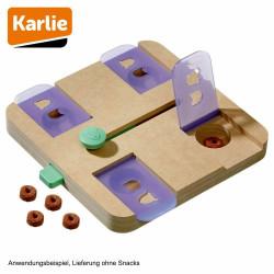 Karlie FL-1031724 dOGGY brain train safe puzzle game. 28 x 25 x 4.5 cm. dog game Reward candy games