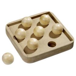 Karlie kitty brain train boccia cat game. 19 x 19 cm x 2.8 cm. Games