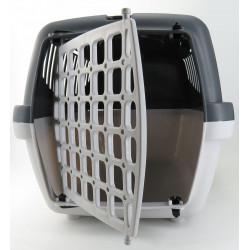 zolux ZO-422115 Transport basket gulliver 1, colour grey, size: 48 x 32 x 31 cm Transport cage