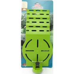 zolux ZO-316000 Green karapas beach for turtles Decoration and other