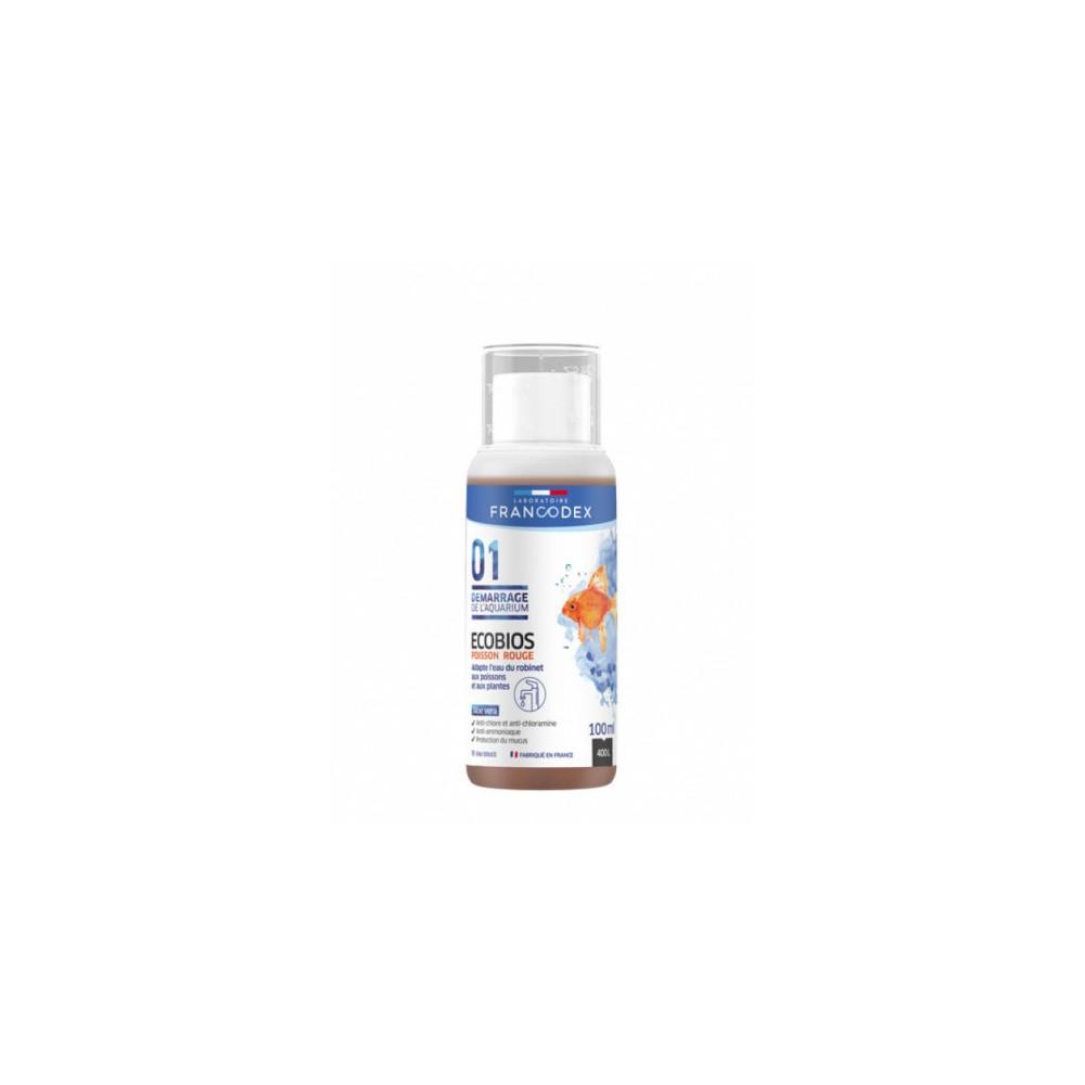 Francodex eCOBIOS aquarium water conditioner goldfish , bottle of 100 ML Maintenance, aquarium cleaning