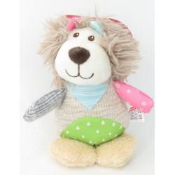 zolux Crazy jojo lion plush toy for dog Peluche pour chien