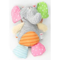 zolux Crazy jojo elephant plush toy Peluche pour chien