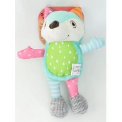 zolux Crazy jojo fox plush toy for dogs Peluche pour chien