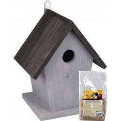 animallparadise packoiseau01 Nesting box and seeds for birds - pack 1 Birds