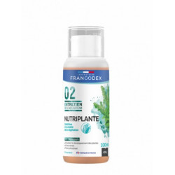 francodex Apport nutritif liquide pour plante NUTRIPLANTE flacon de 100 ML FR-173640 Entretien, nettoyage aquarium