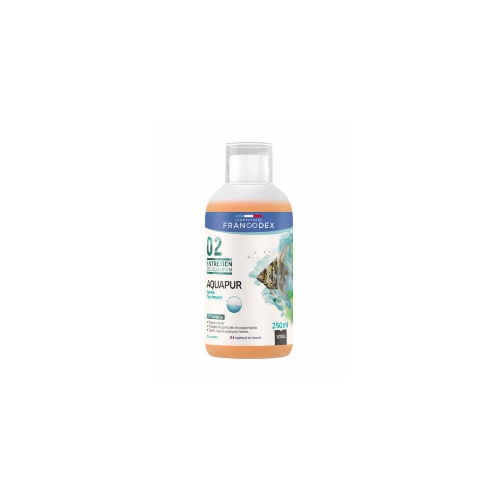 francodex FR-173650 AQUAPUR Water Clarifier 100 ML bottle Maintenance, aquarium cleaning