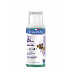 francodex FR-173670 General disinfectant TEMEROL 100ML bottle Maintenance, aquarium cleaning