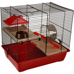 Flamingo ENZO-Käfig. 41.5 x 28,5 x 38 cm. Modell 2. für Hamster FL-210122 Käfig