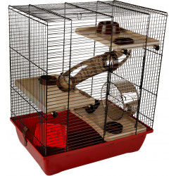 Flamingo FL-210123 ENZO cage. 41.5 x 28.5 x 48.5 cm. Model 3. for hamster Cage