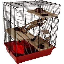 Flamingo ENZO-Käfig. 41.5 x 28,5 x 48,5 cm. Modell 3. für Hamster FL-210123 Käfig