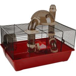 Flamingo FL-210134 MIDO cage. 50 x 33 x 39 cm. for hamster. Cage