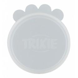 TR-24553 Trixie Tapas de ø 7,6 cm para la alimentación animal, silicona accesorio alimentario