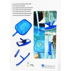 kokido KOK-400-8637 Pool maintenance kit 6 elements. Maintenance kit