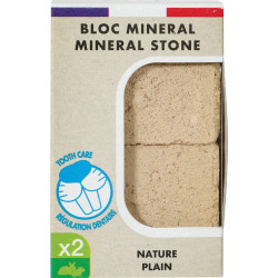 zolux ZO-234044 Mineral block Eden nature for rodents 200g Friandise