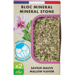 zolux ZO-234048 Eden mineral block purple flavor for rodents 200g Friandise