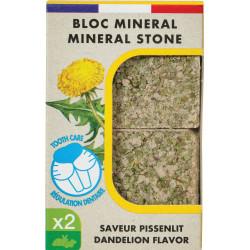 zolux Mineral block Eden Dandelion flavour 200g for rodents Friandise