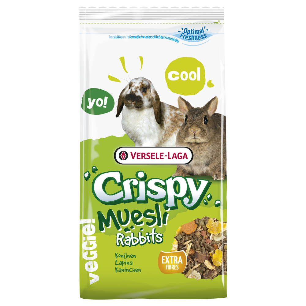 versele-laga VS-461701 Feeding Quality mix, rich in fiber, 1KG for rabbits (dwarves) Food and drink