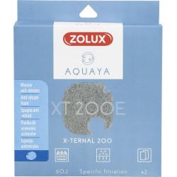 zolux Filter für Pumpe x-ternal 200, Filter XT 200 E Antinitratschaum x2. für Aquarium. ZO-330244 Filtermedien, Zubehör