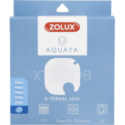 zolux ZO-330241 Filter for pump x-ternal 200, filter XT 200 B perlon x 2. for aquarium. Filter media, accessories