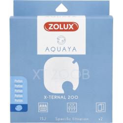 zolux Filter für Pumpe x-ternal 200, Filter XT 200 B perlon x 2. für Aquarium. ZO-330241 Filtermedien, Zubehör