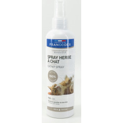 FR-170320 francodex Spray de menta gatuna para gatitos y gatos. 200 ml. Hierba gatera