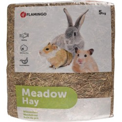 Flamingo FL-200001 meadow hay 5KG rodent feed Food and drink