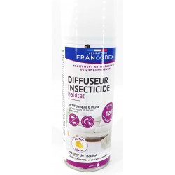 francodex Habitat-Insektizid-Diffusor. 200 ml. Zitronenduft. Behandlung gegen Umweltschädlinge. FR-172352 Antiparasitäre Katze