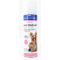 francodex Spray Démêlant à l'Huile de Jojoba Pour Chiens. 250 ml. FR-172461 Shampoing