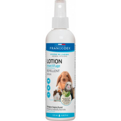 francodex FR-174080 Insect repellent lotion for rodents, rabbits, ferrets. 125 ml. Care and hygiene