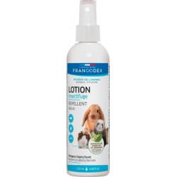 Francodex Insektenabwehrlotion für Nagetiere, Kaninchen, Frettchen. 125 ml. FR-174080 Pflege und Hygiene