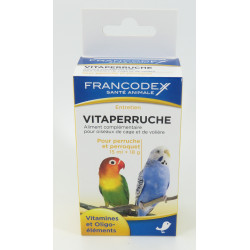 francodex FR-174052 Vitaparuche. Complementary food for cage and aviary birds. Food and drink