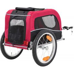 Trixie Roulotte de vélo pour chiens. taille S. dimension: 53 x 60 x 60/117 cm. TR-12813 Transport