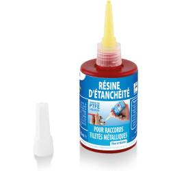 Interplast Résine anaérobie - pour raccord filetés métalliques Plomberie