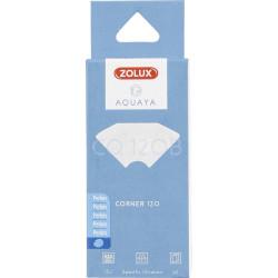 zolux Filtro per pompa ad angolo 120, filtro CO 100 B perlon x 2. per acquario. ZO-330226 Mezzi filtranti, accessori