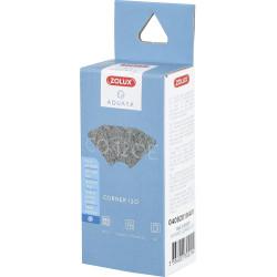 zolux Filter für Eckpumpe 120, Filter CO 120 E mit Anti-Nitratschaum x 2. für Aquarium. ZO-330229 Filtermedien, Zubehör