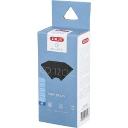 ZO-3302228 zolux Filtro para la bomba de la esquina 120, filtro de CO 120 C de espuma de carbón x 2. para el acuario. Medios ...