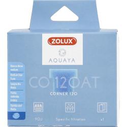 zolux Filter for corner 120 pump, CO 120 AT filter blue foam medium x1. for aquarium. Filter media, accessories