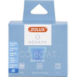 zolux Filter für Eckpumpe 80, Filter CO 80 AT blaues Schaumstoffmedium x1. für Aquarium. ZO-330222 Filtermedien, Zubehör