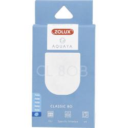zolux Filter für klassische Pumpe 80, Filter CL 80 B Perlon x 2. für Aquarium. ZO-330206 Filtermedien, Zubehör