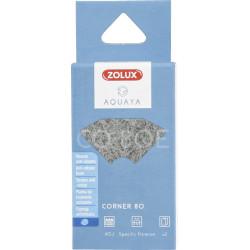 ZO-330224 zolux Filtro para la bomba de la esquina 80, filtro de CO 80 E con espuma anti-nitrato x 2. para el acuario. Medios...