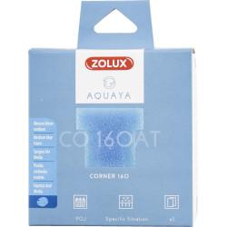 ZO-330232 zolux Filtro para la bomba de esquina 160, CO 160 AT filtro de espuma azul medio x1. para el acuario. Medios filtra...