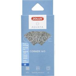 zolux Filter für Eckpumpe 120, Filter CO 120 E mit Anti-Nitratschaum x 2. für Aquarium. ZO-330234 Filtermedien, Zubehör