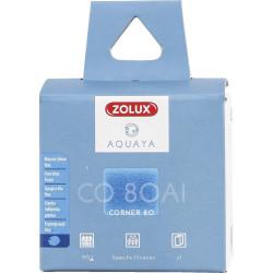 zolux Filter für Eckpumpe 80, CO 80 Al-Filter feiner blauer Schaumstoff x1. für Aquarium. ZO-330251 Filtermedien, Zubehör