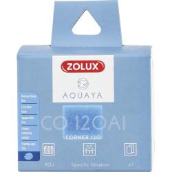 zolux Filter für Eckpumpe 120, CO 120 Al-Filter feiner blauer Schaumstoff x1. für Aquarium. ZO-330252 Filtermedien, Zubehör