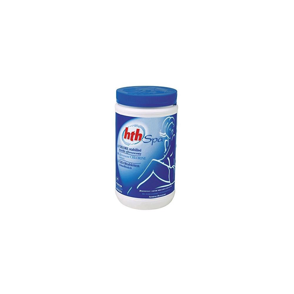 chlore stabilisé - Granulés - 1.2kg SPA HTH SC-AWC-500-6570