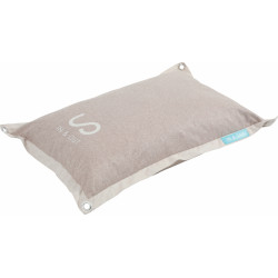 zolux IN & OUT cushion. for dog. 75 x 55 x16 cm. taupe color. Coussin chien