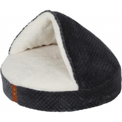 zolux ZO-500123GRI PALOMA Cover Cushion PALOMA for cats. ø 45 cm x 10 cm. grey colour Sleeping