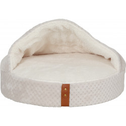 zolux ZO-500123BEI PALOMA Cover Cushion PALOMA for cat. ø 45 cm x 10 cm. beige color Sleeping